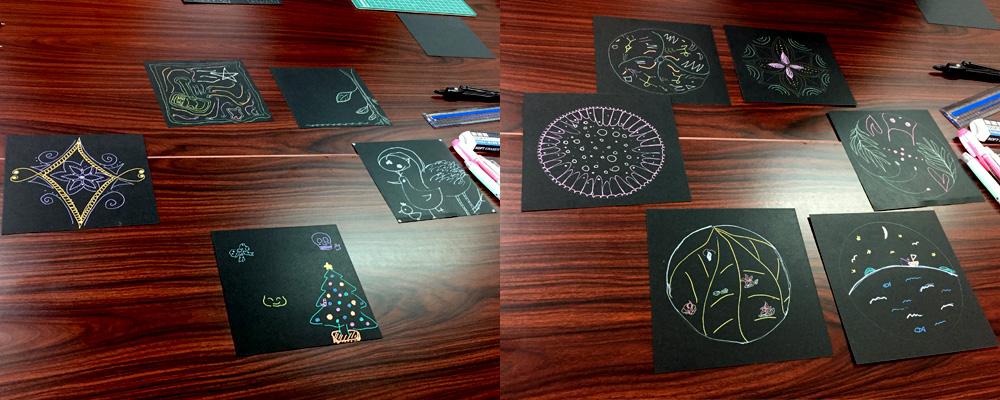 だれでも描ける曼荼羅アート♡ワークショップを行いました!
