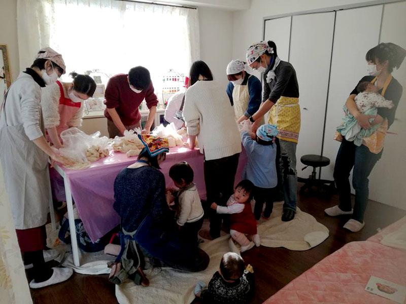 【感想レポ】赤ちゃん連れの「味噌作り会」 @横浜